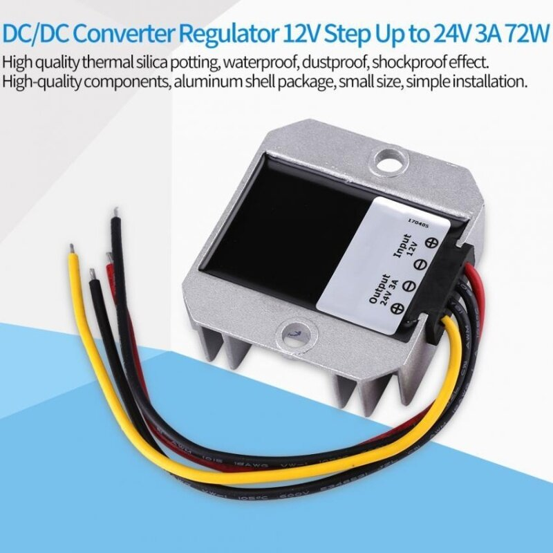 Waterproof Voltage Step Up Module Boost Power Malaysia