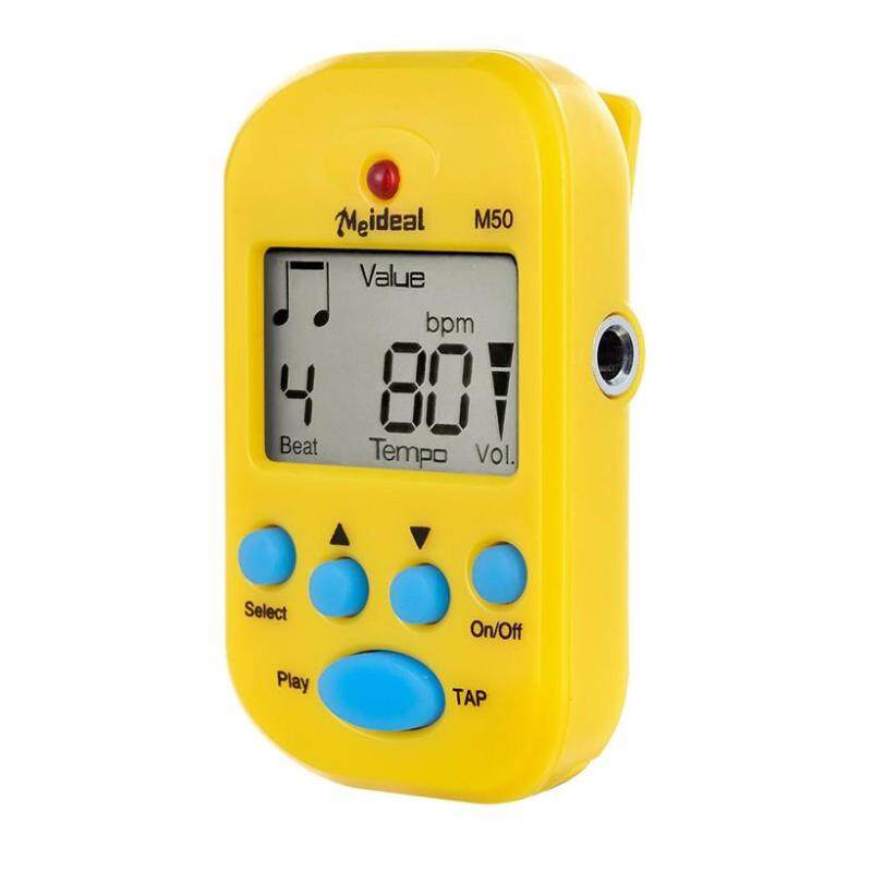 Free shipping Electric Instrument Metronome Digital LCD On Beat Tempo Guitar Music Timer YE Malaysia
