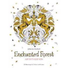 Enchanted Forest Artists Edition A Pull Out And Frame Colouring Book Johanna Basford
