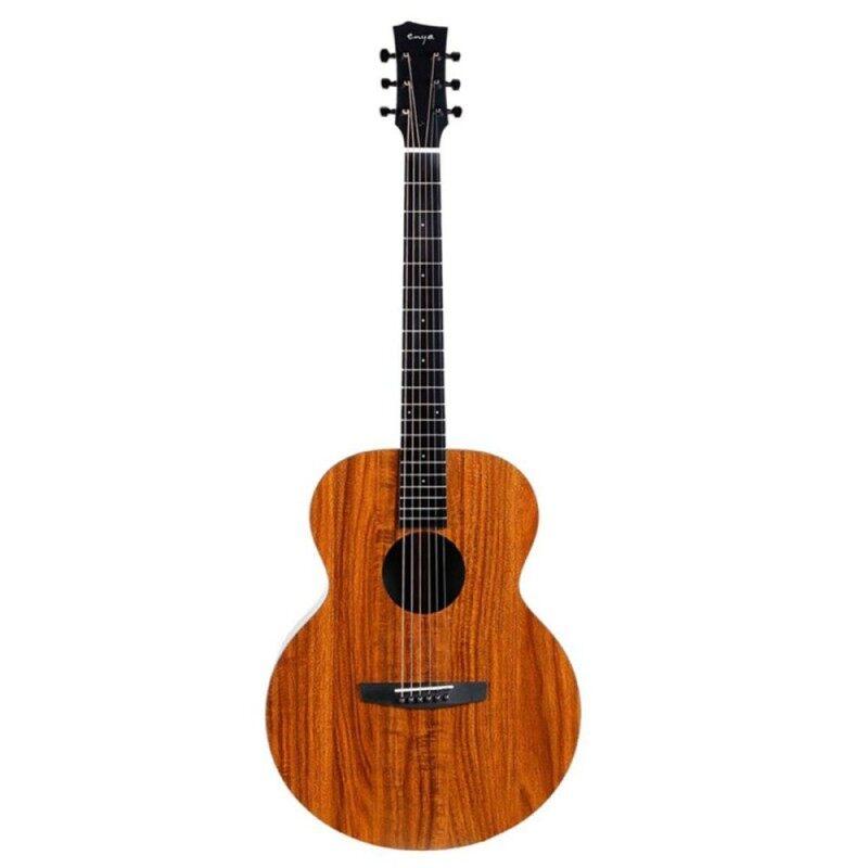 Enya EA-X1 X1EQ 41 Inch Acoustic Guitar Mahogany Wood Full Board Musical+ Pickup EA-X1 Malaysia
