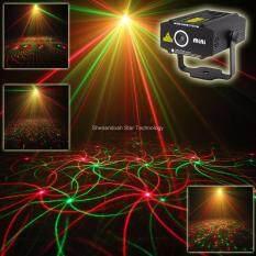 ESHINY B27 Mini RG laser Projector whirlwind 4 patterns Light DJ dance  Disco bar Party Xmas effect Stage lighting Lights Show B27 Black