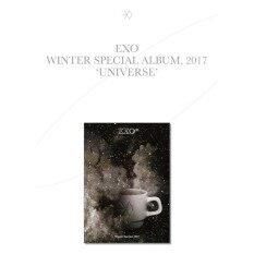 EXO - 2017 Winter Special Album [UNIVERSE](Folded  Poster)