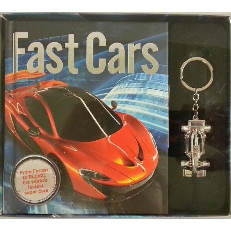 Fast Cars (Book + Key Ring Boxset) 9781784401313 Malaysia