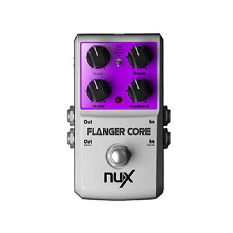 Flanger Core Guitar Effects Pedal Normal &Amp; Tape Flanger Truebypass Tone Lock