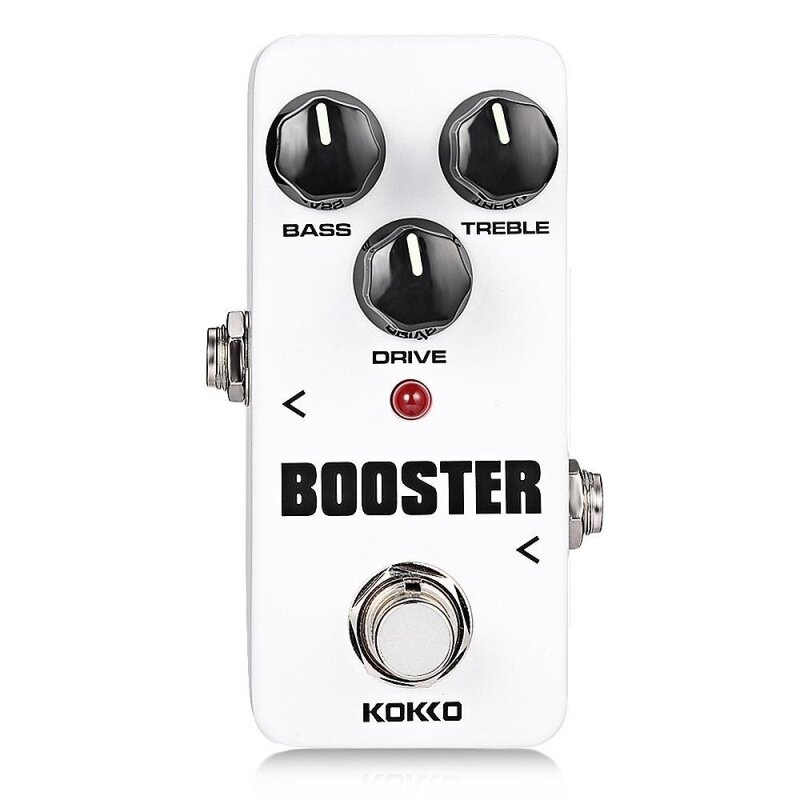 Flanger KOKKO Booster Pure Analog Circuit True Bypass Design Mini Guitar Effect Pedal (White) Malaysia