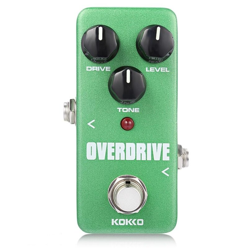 Flanger KOKKO Overdrive Pure Analog Circuit True Bypass Design Mini Guitar Effect Pedal (Deep Green) Malaysia