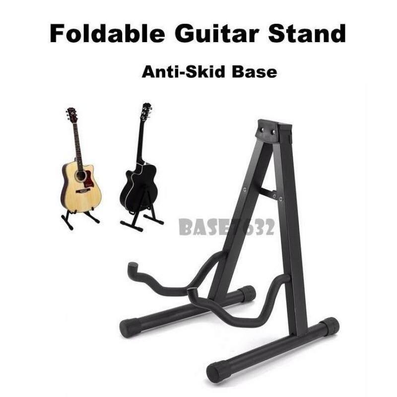Foldable  Guitar Stand Holder Hanger Bracket Mount Ukulele 2302.1 Malaysia