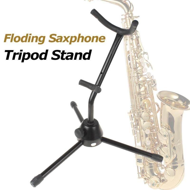 Folding Saxophone Stand Alto Sax Rack Lightweight Tubular Construction Malaysia