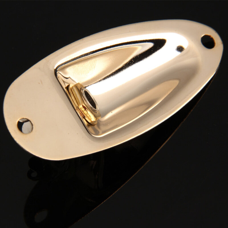Golden Guitar Parts Boat Output Jack Plate Socket for Electric Guitar Malaysia