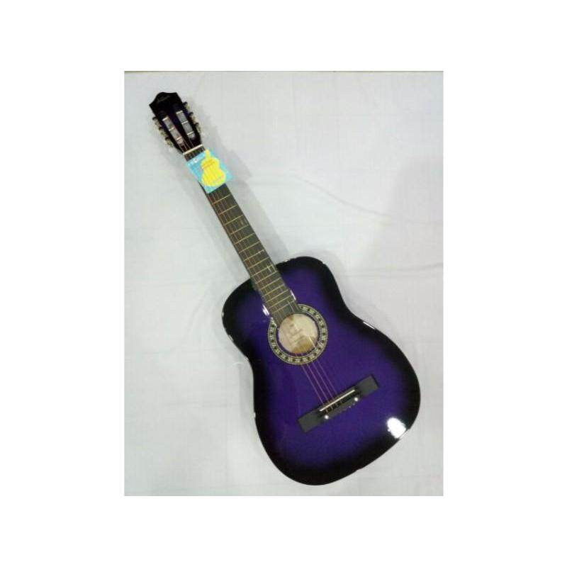 Guitar  acoustic kapok (Purple) Malaysia