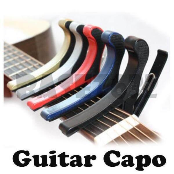 High Quality Aluminium Alloy  Guitar Capo Acoustic  Tune Change key Clamp 1328.1 Malaysia