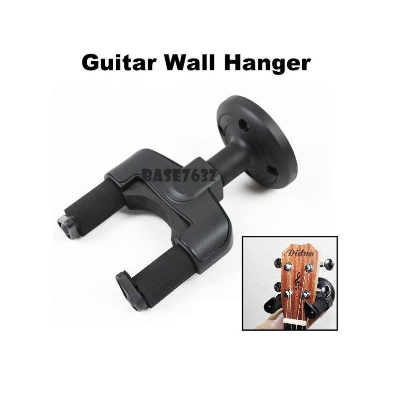 Guitar  Music Instrument Wall Mount Hanger Hook Holder Display Lock 2169.1 Malaysia