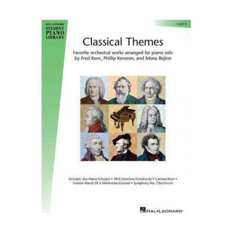 Hal Leonard Student Piano Library Classical Themes Level 4 Malaysia