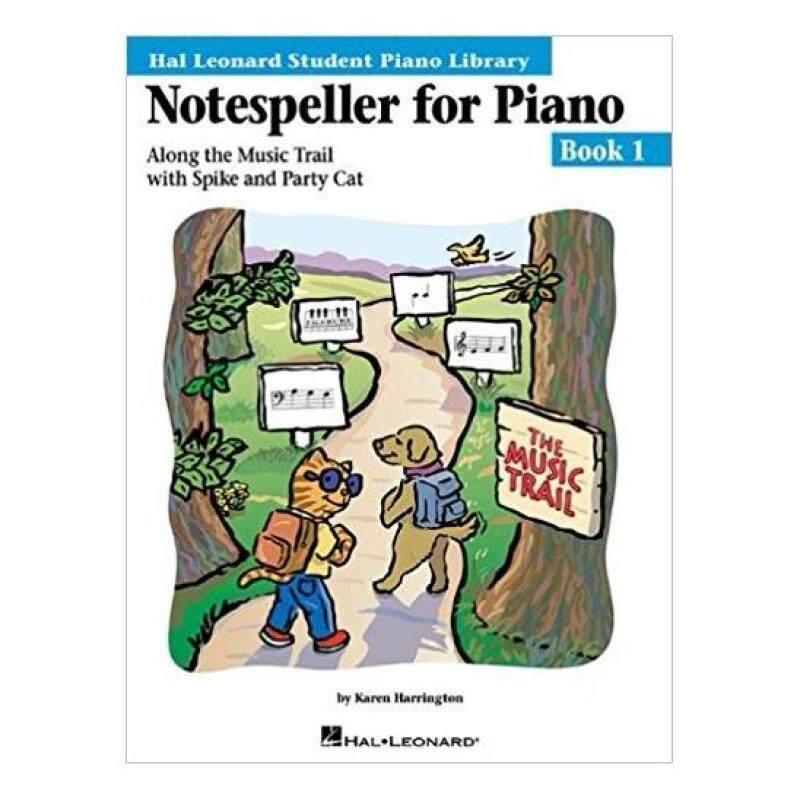 Hal Leonard Student Piano Library Notespeller for Piano Book 1 Malaysia