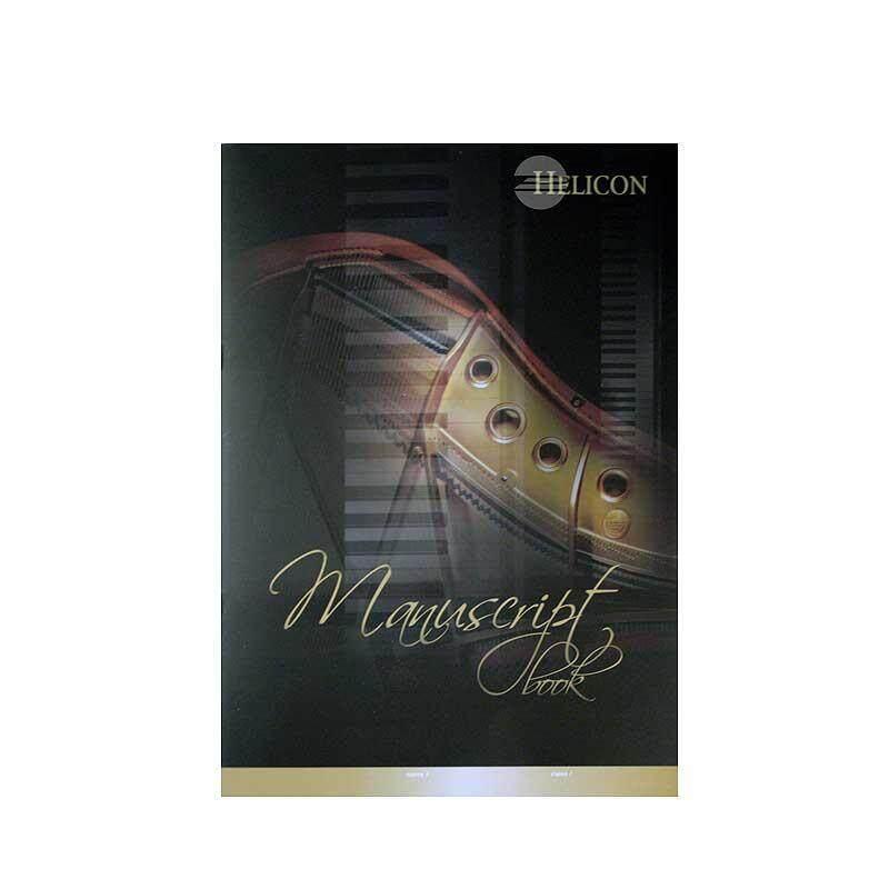 HELICON Piano Manuscript Book Malaysia