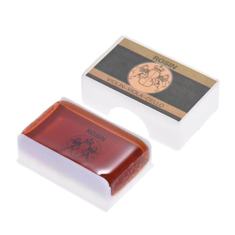 High-class Transparent Rosin Colophony Low Dust Universal for Bowed String Musical Instruments Violin Viola Cello Erhu Orangered Malaysia