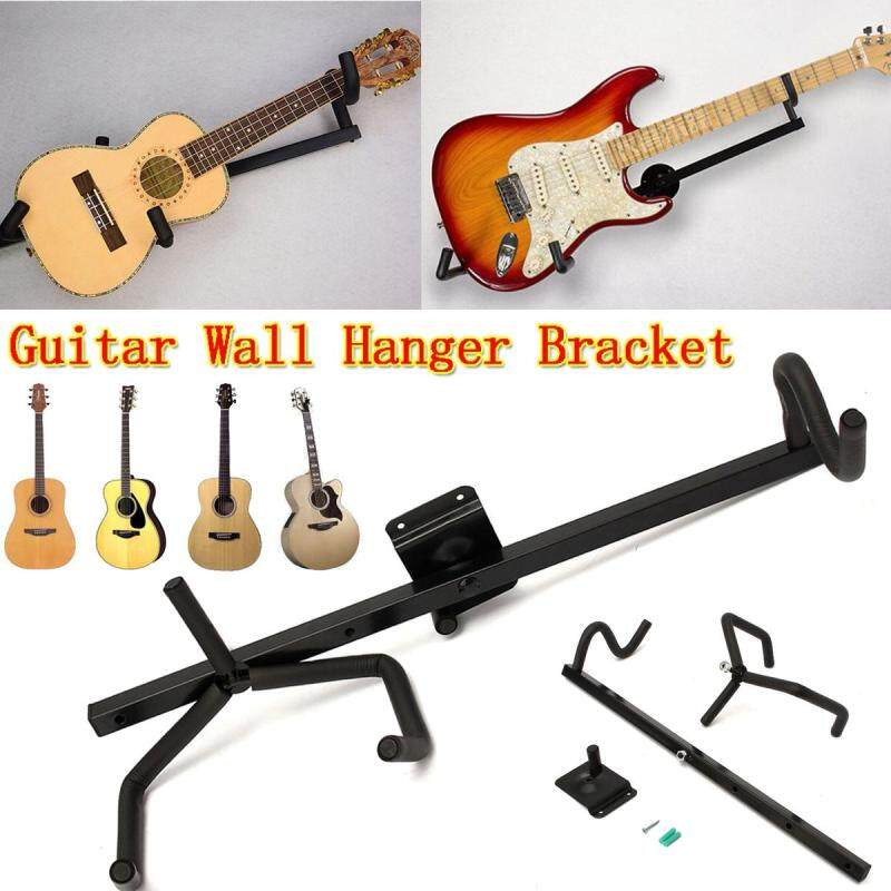 Horizontal Guitar Wall Hanger Bracket Electric Acoustic Bass Guitar And Ukulele Malaysia