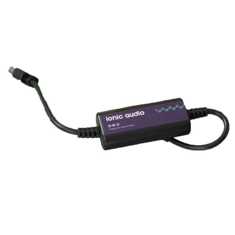 Ionic Audio 9v 2000mA USB Pedal Power Supply-5V USB to 9V DC Converter Malaysia