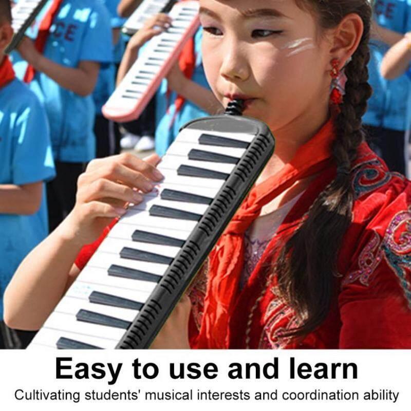 IRIN Keyboard Harmonica Musical Education Instrument for Beginner Kids Children(Black 32 Keys) Malaysia