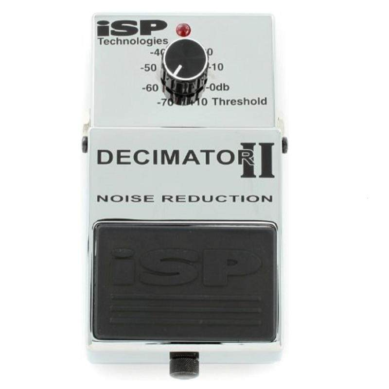 ISP Technologies Decimator II Noise Reduction Pedal *Crazy Sales Promotion* Malaysia