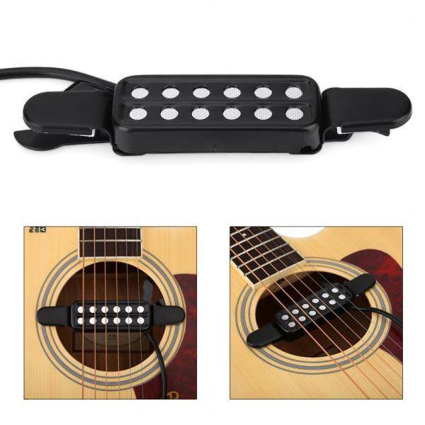 Justgogo 12 Sound Hole Magnetic Pickup Transducer for Acoustic Guitar Musical Instruments Accessories Malaysia