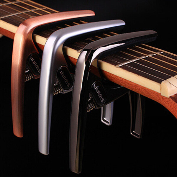 K8 Electric Acoustic Quick Change Tune  Guitar Capo Clamp (Black) Malaysia