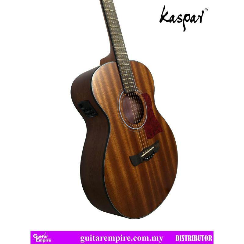 KASPAR Semi-Acoustic Guitar K505D-EQ, With Pickup and Built-in Tuner, Rosewood Fingerboard, Matte Furnishing Malaysia