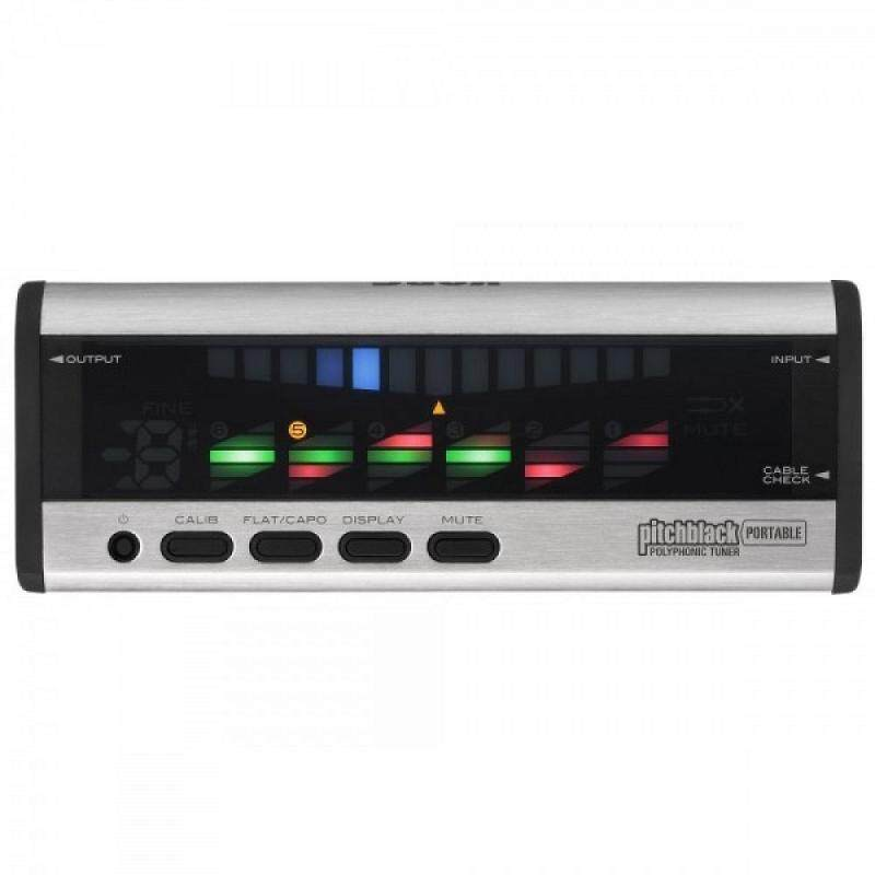 Korg PB04 Pitchblack Portable Polyphonic Tuner - Silver ( PB-04 ) Malaysia