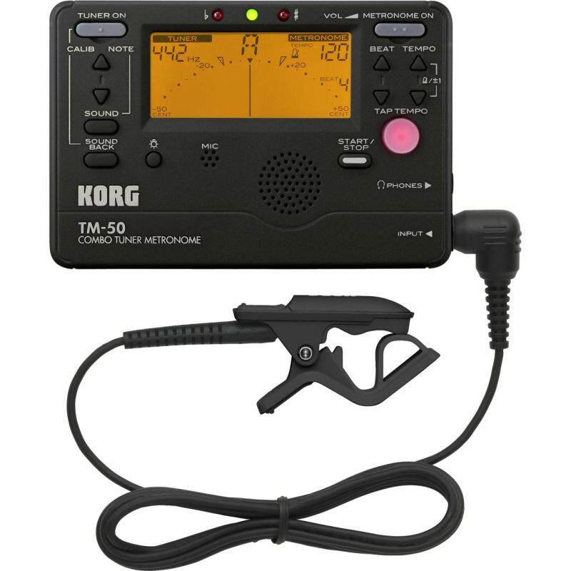 Korg TM-50C Combo Tuner / Metronome with Contact Microphone Malaysia