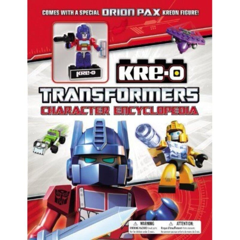 KRE-O Transformers Character Encyclopedia ( with Orion Pax Kreon minifigure ) Malaysia