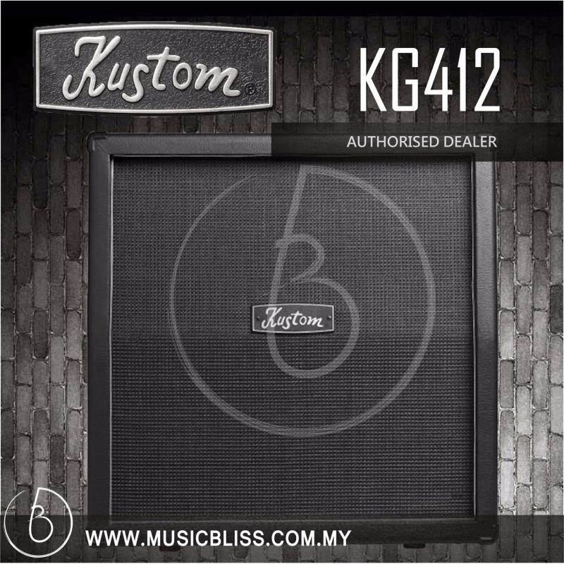 Kustom KG412 4x12 Guitar Speaker Cabinet (KG-412) Malaysia