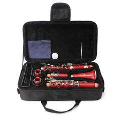 Lade Bb 17 Key Beginner Clarinet School Student Orchestra Band Gift W/ Case By Qiaosha.