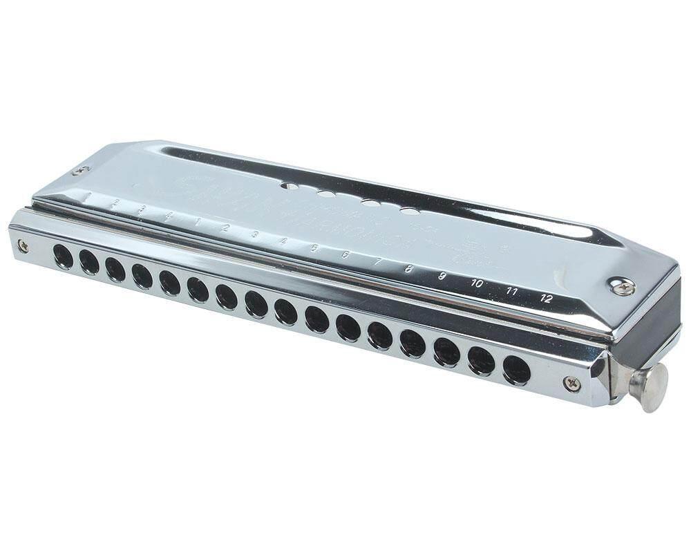 Lanan Kunci C 16 Lubang 64 Nada Berwarna Harpa Harmonika Organ Tiup Alat (Perak)-Intl