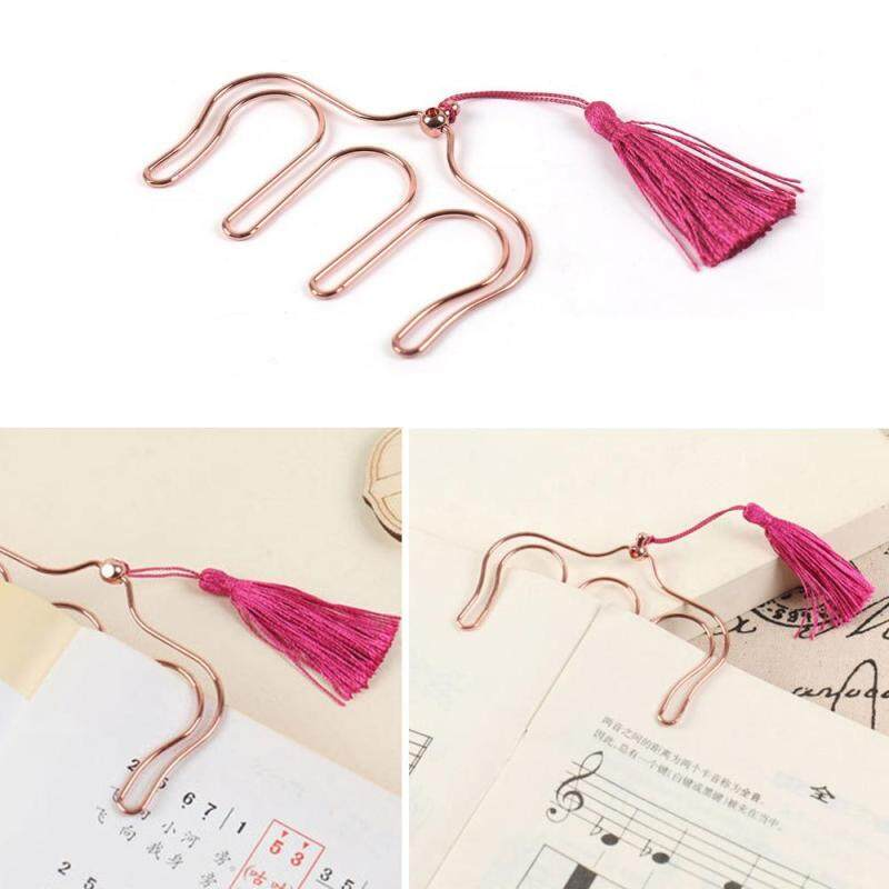 leegoal Music Book Clip Holder,Sheet Music Clip Bookmark,Page Holder,Random Color Malaysia