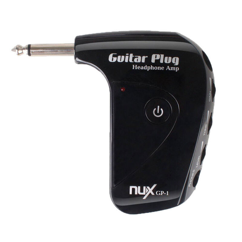 Leegoal NUX GP-1 Classic AUX Jack Rock Guitar Plug Headphone Amp (Black) (Intl) Malaysia