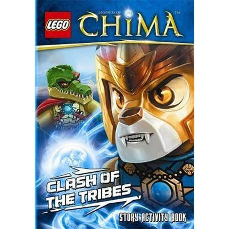 LEGO Legends of Chima: Clash of the Tribes Story Activity Book Malaysia