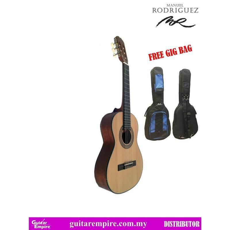 Manuel Rodriguez Classical Guitar Cadete 8, Cedar Top, Mahogany Back & Side, Rosewood Fingerboard, Nylon String 1/2 size, FREE BAG Malaysia