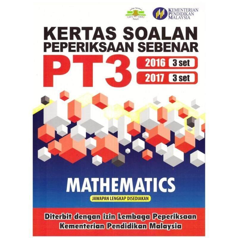 MBQ BOOKS Kertas Soalan Peperiksaan Sebenar PT3 Mathematics 2016.2017 Malaysia