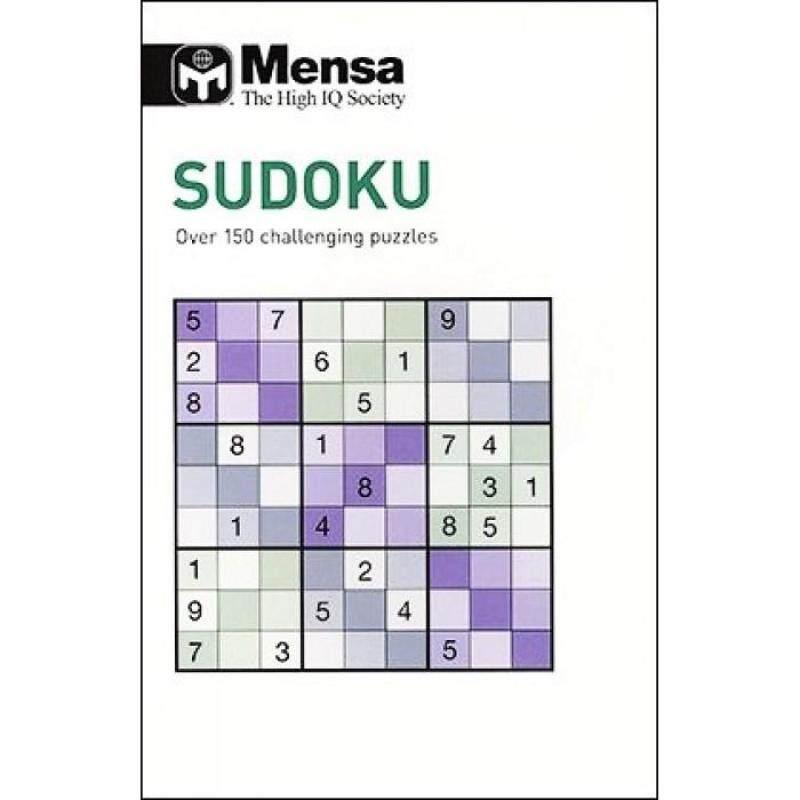 Mensa: Sudoku 9781781774687 Malaysia