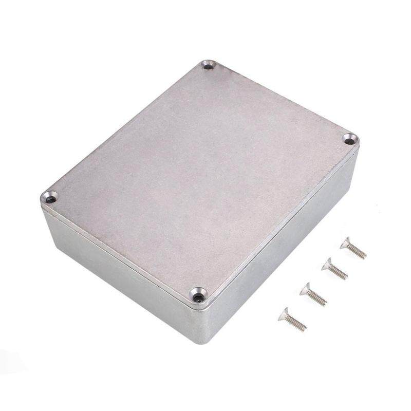 Mingrui Metal Alloy Stomp Box Effect Pedal Enclosure For Guitar Instrument 1590BB Style Malaysia