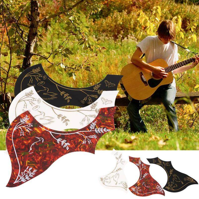Mingrui Red Anti-Scratch Folk Pickguard Guard Scratch Plate Protector for Wood Guitar Malaysia