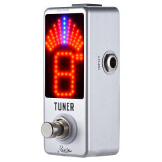 Mini Chromatic Tuner Pedal Effect Display True Bypass For Guitar Bass By Tomtop.