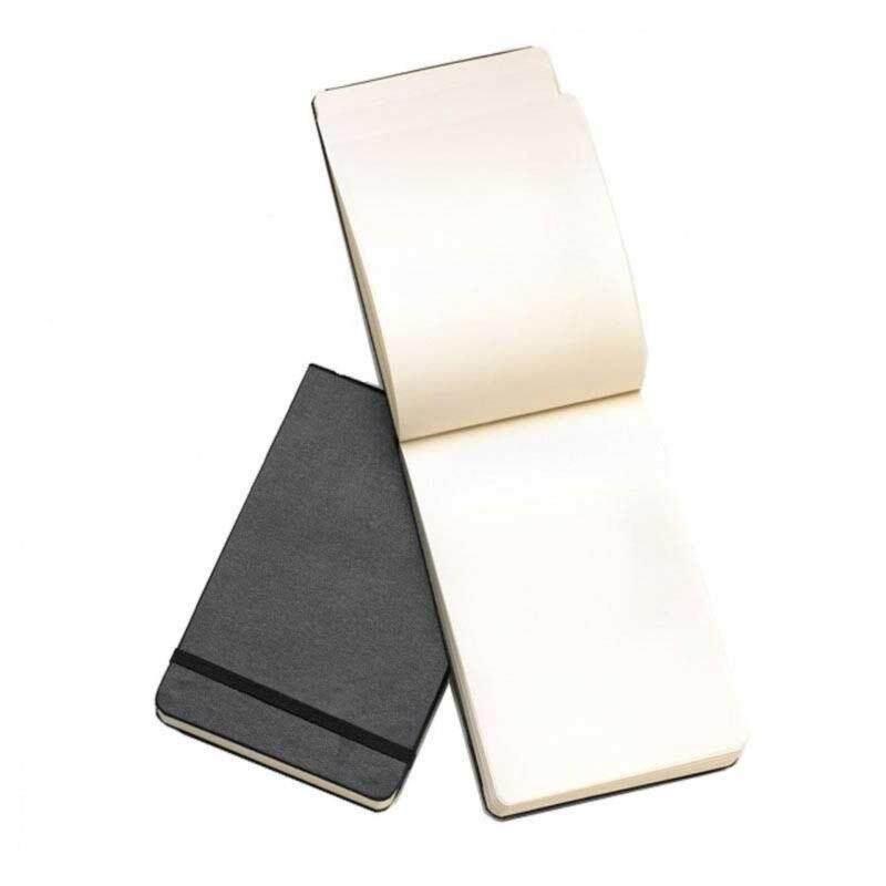 Moleskine Plain Reporter Notebook - Black Pocket Malaysia