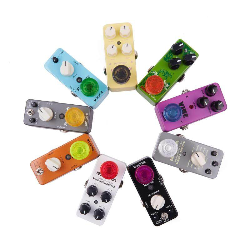10 pcs Mooer Candy Footswitch Topper Random Color Mix Colorful Plastic Bumpers Effect Pedal Protector FT-MX Malaysia