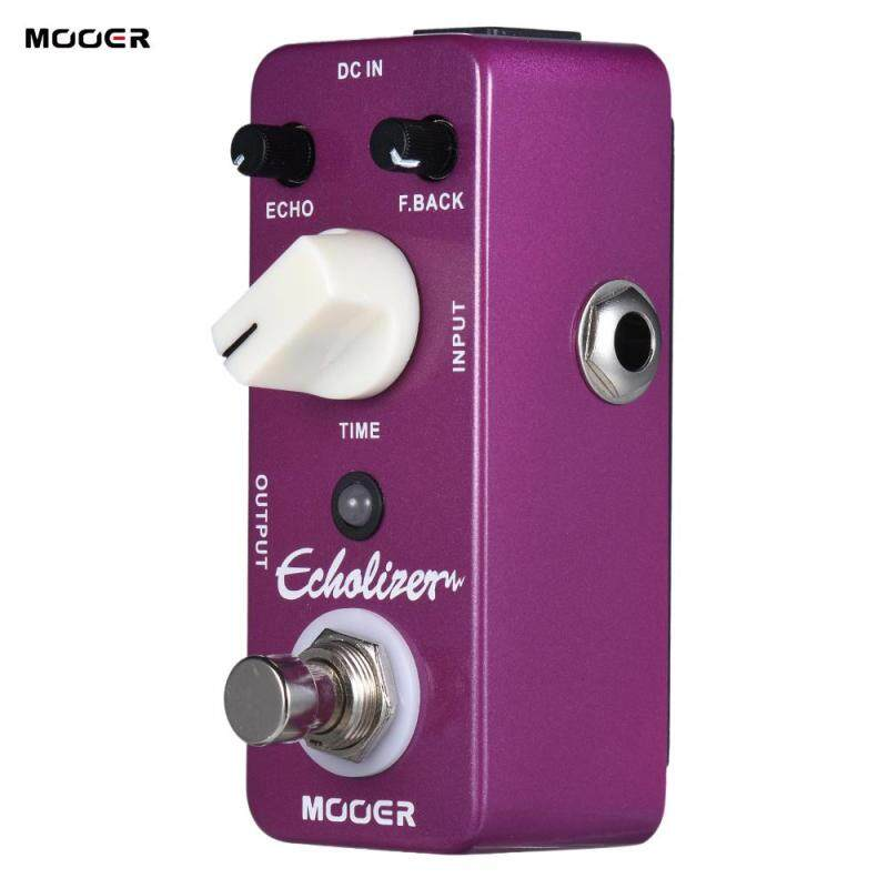 MOOER Echolizer Delay Guitar Effect Pedal True Bypass Full Metal Shell Malaysia