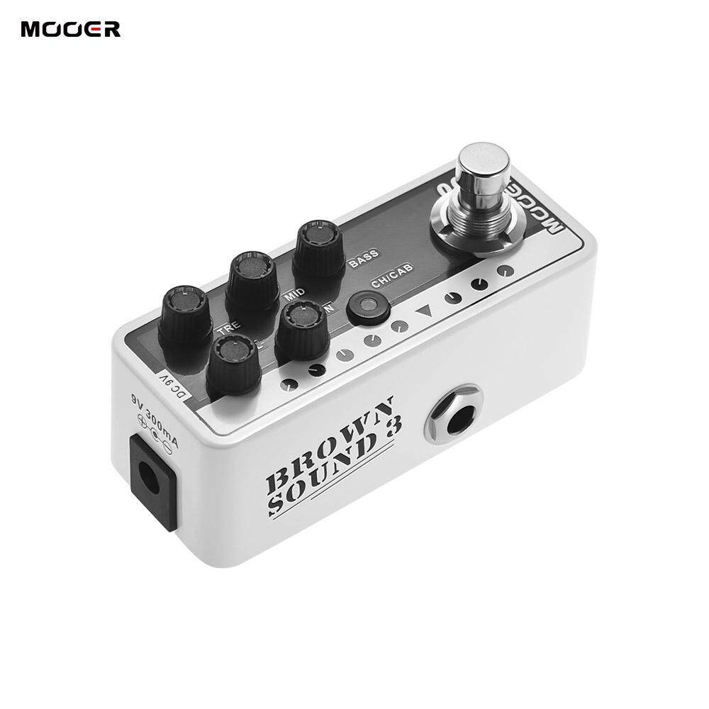Who Sells The Cheapest Mooer Micro Preamp Series 005 Brown Sound 3 Modern Day 80S Digital Preamp Preamplifier Guitar Effect Pedal True Bypass Intl Online