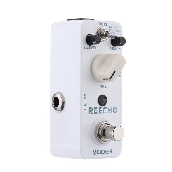 【Hot Sale】Mooer Reecho Micro Mini Digital Delay Effect Pedal for Electric Guitar True Bypass Malaysia