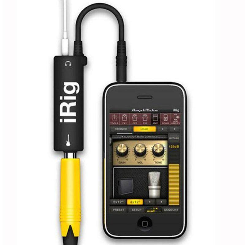 Multimedia IRig Guitar Adapter Interface Ampli For Iphone Ipad Ipod Malaysia