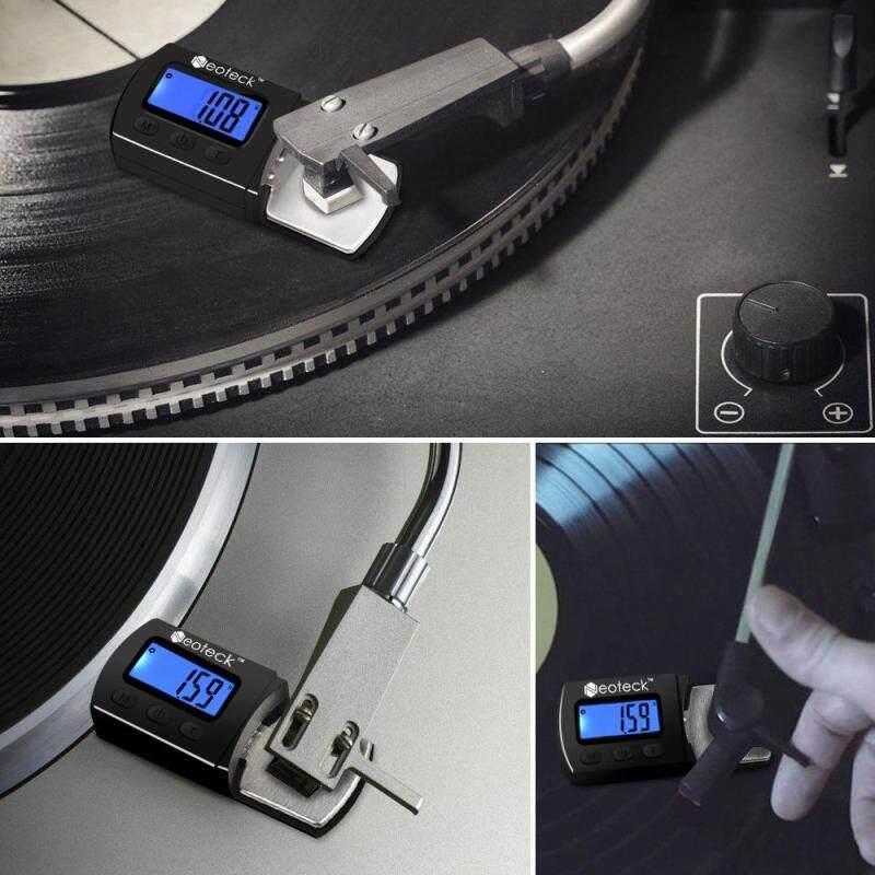 Neoteck LED Digital Cartridge Stylus Tracking Force Scale Gauge 0.01g Highly Sensitive For Tonearm Phono Cart Malaysia