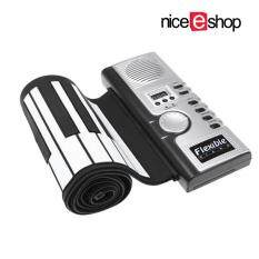 niceEshop 61 Key Portable Electronic Piano Keyboard Foldable Silicone Roll  Up Piano Keyboards Built-in Loudspeaker For Kids Children Malaysia